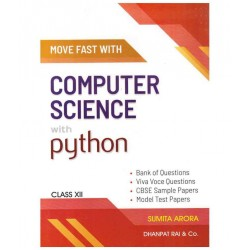Move fast with computer science with python class 12 2020-21
