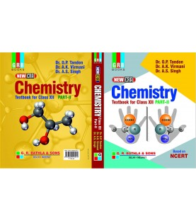 GRB New Era Chemistry Class 12 Part 2 By O P Tandon 2020-21