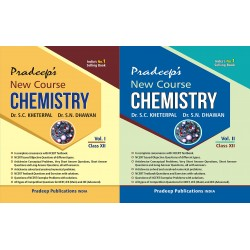 Pradeep's New Chemistry for Class 12 (Set of 2 vol.)
