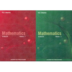 R D Sharma Mathematics Class 12 Vol.1& 2 2020-21 edition