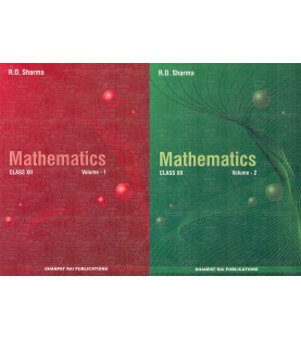 R D Sharma Mathematics Class 12 Vol.1and 2 2020-21 edition