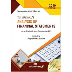 TS Grewal Analysis of Financial Statements Class 12 for