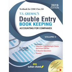 T.S. Grewal's Double Entry Book Keeping  Vol. II