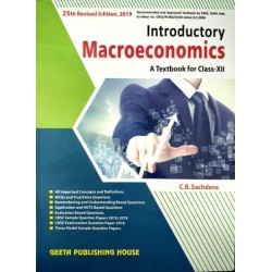 Introductory Macro economics Class 12 CB Sachdeva for 2020