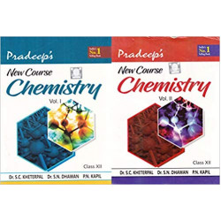 Pradeep's New Chemistry for Class 12 (Set of 2 volume)