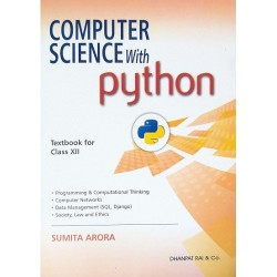 Computer Science With Python Textbook Class 12 (With