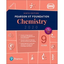 Pearson IIT Foundation Series Chemistry Class 9 2020-21