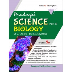 Pardeep's Science Biology Part-3 for Class 9th 2020-21