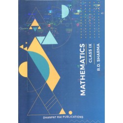 Mathematics for Class 9 by R D Sharma (2020-21 Session)