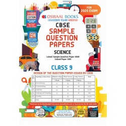 Oswaal CBSE Sample Question Paper Class 9 Science For 2020