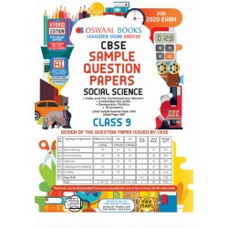 Oswaal CBSE Sample Question Paper Class 9 Social Science