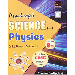 Pardeep's Science Physics Part-1 for Class 9th-(2019-20)