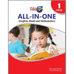 Full Marks All in One (English, Hindi, Mathematics, EVS)