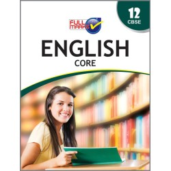Full Marks Guide Class 12 English - Core 2020-21