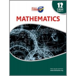 Full Marks Guide Class 12 Mathematics Part - 1 2020-21