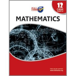 Full Marks Guide Class 12 Mathematics Part - 2 2020-21