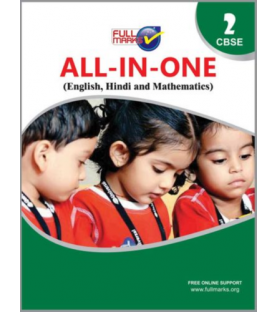 Full Marks All in One (English, Hindi, Mathematics, EVS) for Class 2 2020-21