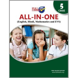 Full Marks All-in-One (English, Hindi, Mathematics, EVS) for Class 5 2020-21
