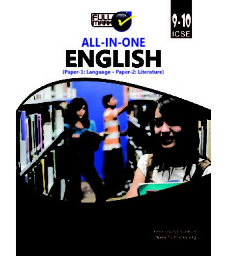 Full Marks ICSE All In One English Class 9-10