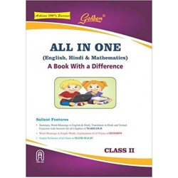 All In One Class-II (English, Hindi, Mathematics)
