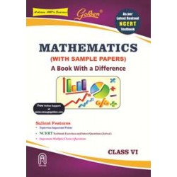 Golden® Mathematics : A Book With A Difference for Class-