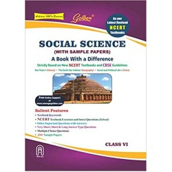 Golden Social Science : (With Sample Paper) A Book With a