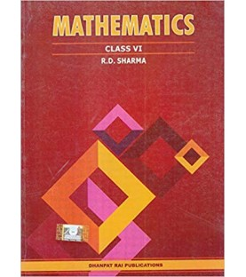 Mathematics for Class 6 by R D Sharma 2019-20