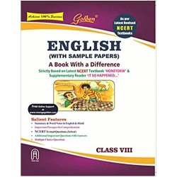 Golden English: (With Sample Papers) A book with a