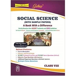 Golden Social Science: With Sample Papers) A book with a