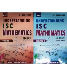 APC Understanding ISC Mathematics Class-11 (2 Vol.) By M.L. Aggarwal 2020 edition