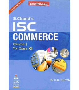 S. Chand's ISC Commerce Vol-1 For Class 11 by C. B. Gupta