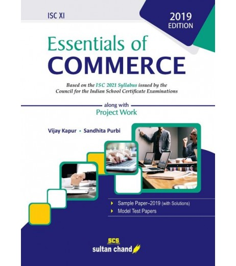 Essentials Of Commerce ISC 11 With Project Work by Vijay Kapur