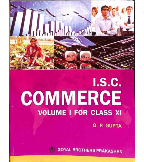 ISC Commerce Class 11 By O P Gupta