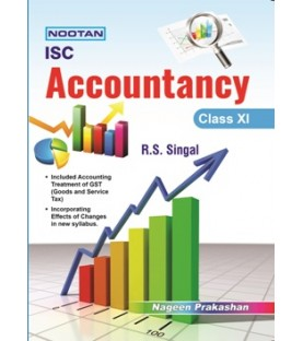 Nootan ISC Accountancy Class 11by R. S. Singal