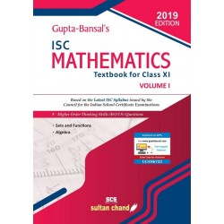 Gupta Bansal's ISC Mathematics : A Textbook For Class 11