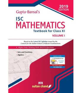 Gupta Bansal's ISC Mathematics : A Textbook For Class 11 Vol- 1by V. K. Gupta , A. K. Bansal