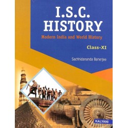 ISC History : Modern India And World History 11 by
