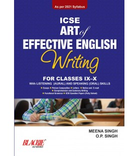Art of Effective English ISC Class 11