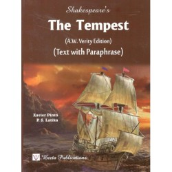 The Tempest (A. W. Verity Edition) Text With ParaphraseXavier Pinto, P. S. Latika