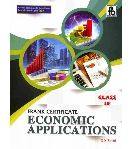 Frank Certificate Economic Applications Class 9 by D. K. Sethi