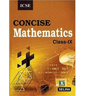 Selina ICSE Concise Mathematics for Class 9 2021-22