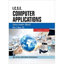 ICSE Computer Applications (Java Under Blue J)