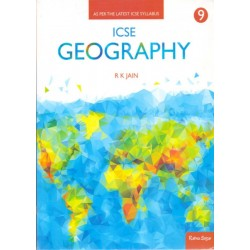 ICSE Geography by R.K. Jain Class 9