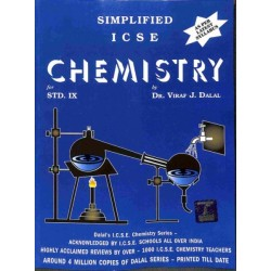 Simplified ICSE Chemistry Class 9 by  Viraf J. Dalal 2021