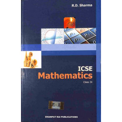 ICSE Mathematics Class 9by R. D. Sharma