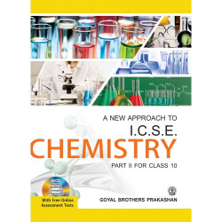A New Approach to ICSE Chemistry Class-10 By V.K. Sally, D.