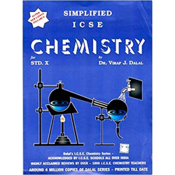 Simplified ICSE Chemistry Class 10 by  Viraf J. Dalal 2021