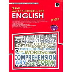 Frank Way To Successful ICSE English Test Papers Class10by M. Lawrence