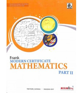Frank Modern Certificate Mathematics Part-2 2019-20