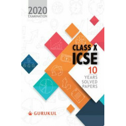 Oswal ICSE 10 Years Solved Papers For Class X (For 2020